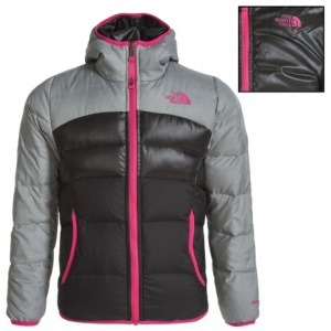 Image of The North Face Moondoggy Down Jacket - Reversible, 550 Fill Power (For Little and Big Girls)