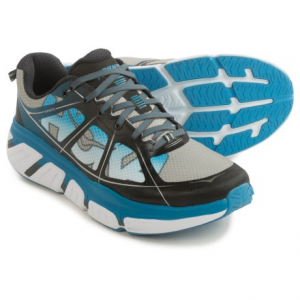 hoka one one infinite running shoes (for men)- Save 41% Off - CLOSEOUTS . Hoka One One's Infinite running shoes offer the same balanced cushioning profile found in the Clifton 2, but with extra stability. The Infinite offers a wider platform, Late Stage Meta-Rocker geometry and a 4mm drop. Available Colors: POPPY RED/ACID, BLUE GRAPHITE/FRENCH BLUE, GREY/CITRUS, TRUE BLUE/ACID. Sizes: 7, 7.5, 8, 8.5, 9, 9.5, 10, 10.5, 11, 11.5, 12, 12.5, 13, 14.