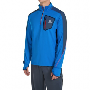 Salomon Trail Runner Warm LS Zip Tech Tee