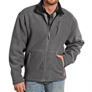 Image of Powder River Outfitters Northwestern Fleece Jacket (For Men)