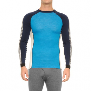 Image of Helly Hansen Warm Ice Base Layer Top - Crew Neck, Long Sleeve (For Men)