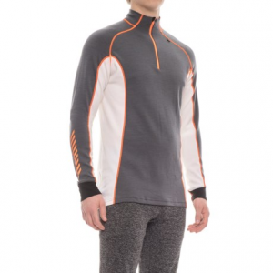 Image of Helly Hansen Warm Freeze Base Layer Top - Zip Neck, Long Sleeve (For Men)