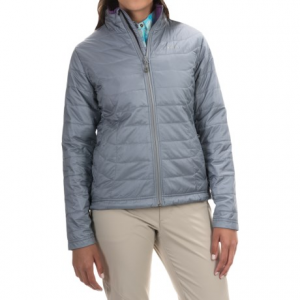 simms fall run primaloft(r) jacket - insulated (for women)- Save 57% Off - CLOSEOUTS . Whenever your cool season fishing trip calls for an extra layer, Simmsand#39; Fall Run jacket is up to the task. This lightweight, packable layer boasts PrimaLoftand#174; Gold insulation and contoured seams for a comfortable fit under waders or a rain shell. Available Colors: STORM CLOUD. Sizes: XS, S, M, L, XL.