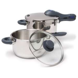 wmf perfect plus pressure cooker set - 4.5 qt., 6.5 qt.- Save 63% Off - Overstock . Let WMFand#39;s Perfect Plus pressure cooker set introduce you to the convenience of cooking vegetables, meats and more in about 1/3 of their normal time! Safe, easy to use, and made of durable stainless steel. Available Colors: SEE PHOTO, STAINLESS STEEL.