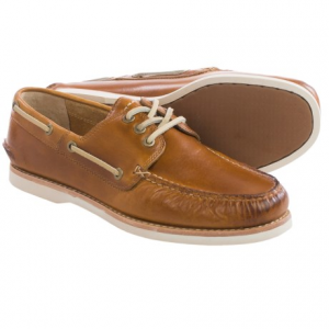 Image of Frye Sully Smooth Leather Boat Shoes (For Men)