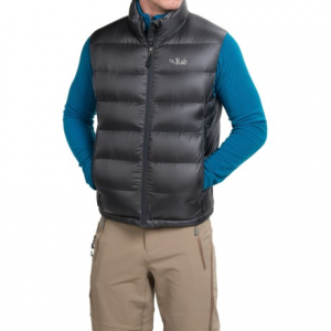 photo: Rab Men's Neutrino Vest down insulated jacket