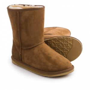 Image of Australia Luxe Collective Cosy Short Boots - Suede, Sheepskin Lined (For Men)