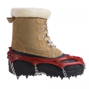 snowline chainsen pro winter boot tractions (for men and women)- Save 39% Off - CLOSEOUTS . Slippery surfaces and hard-packed snow and ice are no match for Snowlineand#39;s Chainsen Pro winter boot tractions! Simply attach these to any pair of shoes or boots for extra grip as your walk your local winter wonderland. Available Colors: RED, BLUE, GREY, NEEDS COLOR, ORANGE. Sizes: M, L, XL, 2XL, S.
