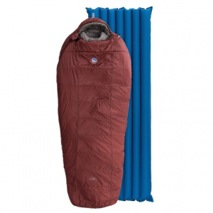 big agnes 15?f rock creek sleeping bag with sleeping pad- Save 28% Off - CLOSEOUTS . This Big Agnes sleep system features a three-season sleeping bag and inflatable pad in a single package at a great value. The 15and#176;F Rock Creek sleeping bag offers well-insulated warmth, even in damp conditions, and the insulated sleeping pad is made of durable diamond-ripstop nylon. Available Colors: RED.