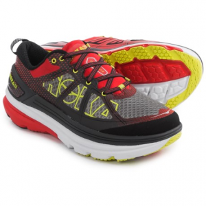 hoka one one constant 2 running shoes (for men)- Save 50% Off - CLOSEOUTS . The most supportive model in the companyand#39;s line of ultra-cushioned road shoes, Hoka One One'S Constant 2 running shoes are ready to go the distance. The wide platform is cushioned with EVA and RMATand#174;, and the seamless upper offers a stable, comfortable fit. Available Colors: GREY/DIRECTOIRE BLUE, GREY/POPPY RED, BLACK/GREY. Sizes: 7, 7.5, 8, 8.5, 9, 9.5, 10, 10.5, 11, 11.5, 12, 12.5, 13, 14, 15.