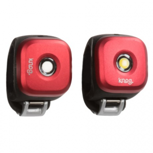 knog blinder 1 led bike lights - twinpack- Save 46% Off - CLOSEOUTS . These two little lights make the perfect pair, lighting the way and increasing visibility while youand#39;re on two wheels. Knogand#39;s Blinder 1 LED bike lights are water resistant, bright and easy to attach to the front and back of your bike, plus they recharge quickly via USB. Available Colors: SILVER, RED, BLUE.