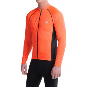 Image of Canari Solar Flare Elite Cycling Jersey - Long Sleeve (For Men)