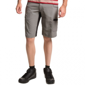 club ride rumble cycling shorts - upf 30 (for men)- Save 56% Off - CLOSEOUTS . True to their name, the Club Ride Rumble cycling shorts are made to take a pounding from mountain biking, commuting and any other kind of riding where things get rough. The tough-as-nails canvas twill PowerWeave fabric wicks moisture, dries quickly and resists abrasions when you get down and dirty on the trails. Available Colors: OAK, RAVEN, SHADOW. Sizes: M, XL, L, S, 2XL.