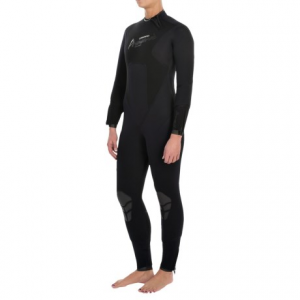 camaro pronomic overall wetsuit - 7mm (for women)- Save 48% Off - CLOSEOUTS . Welded seams, stretchy flexibility and thick, warm, protection! Camaroand#39;s Pronomic overall wetsuit features supple, seamless construction and hot-welded bonding for free-moving exploring in cool waters. Thick 7mm neoprene throughout delivers maximized warmth, and stretch panels at the back, chest and calf improve mobility. Sizes: S, M, L, XL.
