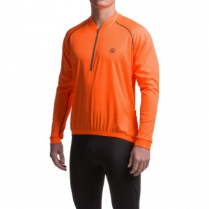 Image of Canari Solar Flare Cycling Jersey - Zip Neck, Long Sleeve (For Men)