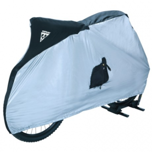topeak mountain bike cover- Save 39% Off - CLOSEOUTS . Just because you store your bike outside doesnand#39;t mean exposure to the elements, so slip the Topeak Mountain Bike over it after your next ride. Its nylon construction is UV-proof and water resistant to keep your steed safe and dry. Available Colors: SEE PHOTO.