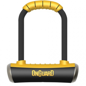 onguard pitbull medium u-lock bike lock- Save 43% Off - CLOSEOUTS . OnGuardand#39;s Pitbull Medium U-Lock bike lock uses 14mm ultra-hardened steel, a drill-resistant two-key cylinder with BumpBlok and an ultra-hardened reinforced crossbar to deter thieves from stealing your ride. Available Colors: SEE PHOTO.