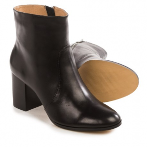 Image of Adrienne Vittadini Bob Ankle Boots - Leather (For Women)