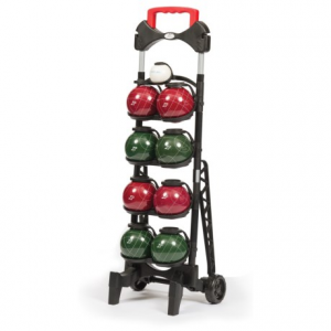 Image of EastPoint Resin 103mm Bocce Ball Set with Caddy