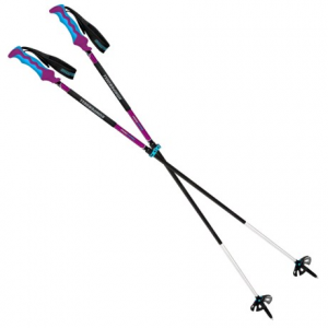 komperdell carbon freeride descent adjustable ski poles- Save 34% Off - CLOSEOUTS . Komperdelland#39;s Carbon Freeride Descent ski poles are a premier performer for backcountry and resort skiers seeking durability, adjustability and a light swing weight. The carbon lower section is reinforced with a Titanal HF rock sleeve, and the Power Lock III locking mechanisms have been updated with high-density aluminum. Available Colors: SEE PHOTO.