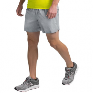 new balance precision run 6? shorts (for men)- Save 62% Off - CLOSEOUTS . Break away from the pack with New Balanceand#39;s Precision Run 6andquot; shorts. They offer quick-drying comfort for the road or the gym, with an internal brief and a convenient zip pocket. Available Colors: CASTAWAY/GALAXY, SILVER MINK. Sizes: S, M, L, XL, 2XL.