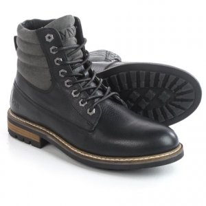 Image of Andrew Marc Radcliff Boots - Leather, Plain Toe (For Men)