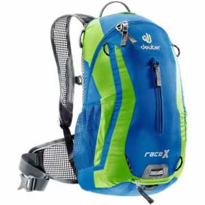 deuter race x hydration pack - 3l- Save 39% Off - CLOSEOUTS . A sleek design for mountain bike racers and minimalists. Deuterand#39;s Race X hydration pack has a contoured back panel,  an easy-to-fill 3-liter reservoir, and highly breathable mesh shoulder straps and waistbelt wings. Available Colors: AUBERGINE/FIRE, OCEAN/KIWI.