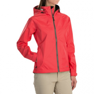 simms hyalite rain jacket - waterproof (for women)- Save 59% Off - CLOSEOUTS . Sudden downpours and ocean spray are no match for the hard-working design of Simms Hyalite rain jacket. The waterproof breathable, fully seam-sealed design includes a water-resistant center zipper and a full-time brimmed storm hood. Available Colors: IRON, BLOSSOM. Sizes: XS, S, M, L, XL.