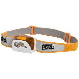petzl tikka(r) xp led headlamp - 180 lumens- Save 39% Off - CLOSEOUTS . Well-designed, versatile and easy to use, Petzland#39;s Tikkaand#174; XP LED headlamp offers five convenient lighting modes (two red, and three white) for a maximum 180 lumens of constant lighting. A battery charge indicator light alerts you at 50% remaining power, and the comfortable, adjustable headband lets you tilt the lamp to point light where you need it most. Available Colors: BLACK, ORANGE, TUMERIC.