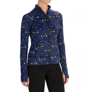 threads 4 thought lori zip-up jacket (for women)- Save 68% Off - CLOSEOUTS . Perfect for cool-weather runs, errand hopping and dropping the kids off at soccer practice, this Threads 4 Thought Lori Zip-Up jacket is crafted from moisture-wicking knit jersey and infused with stretch for moves-with-you ease and comfort. Available Colors: NEPTUNE COMBO. Sizes: XS, S, M, L.