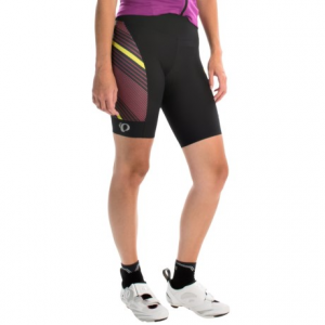 pearl izumi p.r.o. pursuit cycling shorts - upf 50+ (for women)- Save 50% Off - CLOSEOUTS . Hit the road in cushioned comfort with Pearl Izumiand#39;s P.R.O. Pursuit cycling shorts, featuring Transfer In-R-Cooland#174; fabric with coldblackand#174; technology to keep you cool and protected from the sunand#39;s harmful rays. The wide waist and silicone grips keep it in place, and Scotchliteand#174; reflective details help keep you visible in low-light conditions. Available Colors: BLACK/TIBETAN RED, DAZZLING BLUE STREAMLINE. Sizes: L, M, S, XL, XS, 2XL.
