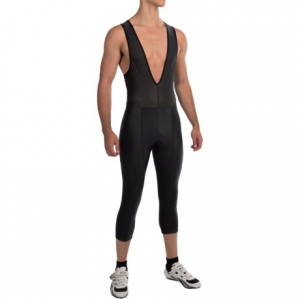 pearl izumi select attack 3/4 bib tights (for men)- Save 39% Off - CLOSEOUTS . Pearl Izumiand#39;s Attack 3/4 bib tights fuse comfort with flexibility and intelligent, performance-focused design. An anatomic, pre-formed RACE 3D Chamois quickly adjusts to different body positions, and Pressure Relief Technology eliminates pressure points and improves blood flow along the way. Available Colors: BLACK/BLACK. Sizes: L, M, S, XL, 2XL.