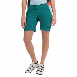 pearl izumi canyon mountain bike shorts - 2-piece (for women)- Save 50% Off - CLOSEOUTS . Pearl Izumiand#39;s Canyon Mountain bike shorts redefine trail-worthy comfort for hard-hitting trail riders. Their dual-layer construction consists of a breathable, lightweight outer layer and a stretchy, body-hugging brief with an MTB Chamoisand#174; designed specifically for womenand#39;s comfort. Available Colors: BLACK, DARK PURPLE, DEEP LAKE, BLACK/MONUMENT GREY, DEEP INDIGO, VIRIDIAN GREEN. Sizes: L, M, S, XL, XS, 2XL.