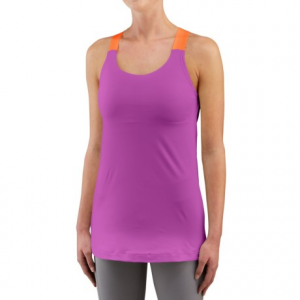 merrell liana tank top - built-in shelf bra (for women)- Save 61% Off - CLOSEOUTS . Brushed to soft perfection, enhanced with M Select WICK technology and boasting wide, eye-catching straps, Merrelland#39;s Liana tank top is an instant workout (and more!) favorite. Available Colors: LAKE BLUE, HYACINTH VIOLET. Sizes: S, M, L, XL, 2XS, XS.