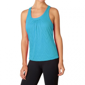 prana mika tank top - scoop neck, racerback (for women)- Save 53% Off - CLOSEOUTS . Ultra-comfy for time in the studio and running errands alike, this cute prAna Mika tank top layers on the comfort starting with a soft jersey-knit lining and topping it off with a charming burnout patterned shell. Available Colors: AZALEA, ULTRA VIOLET, BLACK, ELECTRO BLUE, WHITE, DRAGONFLY COPA, SUPERNOVA COPA, WHITE COPA, BLACK COPA, COSMO PINK COPA. Sizes: XS, S, M, L, XL.