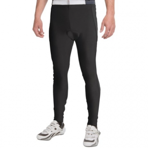 canari veloce pro cycling tights (for men)- Save 50% Off - CLOSEOUTS.   Canari Veloce Pro cycling tights offer no handle to the wind and feature a seamless, padded chamois for the highest comfort. Available Colors: BLACK. Sizes: XL, S, M, L, 2XL.