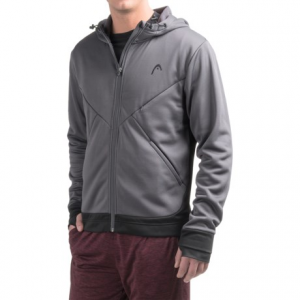 head power hood fleece jacket (for men)- Save 44% Off - CLOSEOUTS . Headand#39;s Power Hood fleece jacket is a seriously warm layer thatand#39;s ideal for wearing pre-workout or while warming-up on cold days. The smooth face features a warm brushed backing and a lined hood for extra protection from chilly breezes. Available Colors: BLACK, NINE IRON. Sizes: S, M, L, XL.