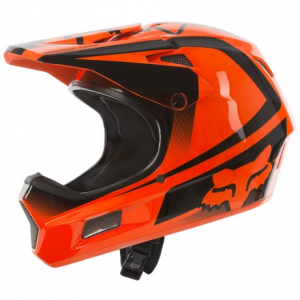 fox racing rampage comp imperial full face mountain bike helmet (for men)- Save 30% Off - CLOSEOUTS . Fox Racingand#39;s Rampage Comp Imperial bike helmet is a lighter fiberglass version of Fox Racingand#39;s popular Rampage Carbon helmet. The fiberglass shell results in a lighter weight with the same impact-absorbing protection, well-designed ventilation ports and a 3D molted polyurethane chinbar for excellent airflow. Available Colors: BLACK/BLUE, BLACK/WHITE, FLO ORANGE. Sizes: S, M, L, XL, 2XL.