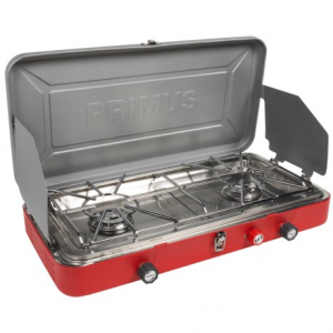 primus profile 2-burner stove- Save 49% Off - CLOSEOUTS . From backyard to tailgate to campground, the Primus Profile 2-burner stove delivers top-shelf culinary performance for outdoor chefs everywhere. The easy-click piezoelectric ignition fires up the two high-output burners, and the lid and windscreens keep the heat where you need it most. Available Colors: RED.
