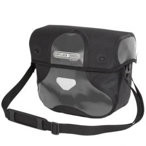 ortlieb ultimate 6 classic handlebar bag - medium- Save 36% Off - CLOSEOUTS . Made of waterproof fabric, the Ortlieb Ultimate 6 Classic handlebar bag is suitable for both touring or commuting. The reinforced lid features a magnetic closure, and a zip pocket inside holds valuables. Available Colors: RED/BLACK, BLACK LEATHER, YELLOW/BLACK, WHITE/BLACK, ASPHALT/BLACK, ULTRAMARINE/BLACK.
