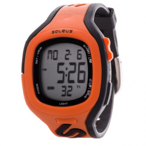 soleus stride watch- Save 53% Off - CLOSEOUTS . With six interval timers and a 24-hour chronograph, the Soleus Stride watch is your partner every step of the way. The perforated S-strap is ventilated and secure. Available Colors: ORANGE/BLACK.