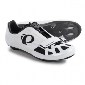 pearl izumi elite road iv cycling shoes - 3-hole (for men)- Save 50% Off - CLOSEOUTS . Pearl Izumiand#39;s ELITE Road IV cycling shoes deliver efficient, elite-level performance and offer a great fit right out of the box. Theyand#39;re updated with a BOAand#174; IP-reel closure system and feature a super-stiff, full carbon outsole with Direct-Vent technology to keep feet cool on hot rides. Available Colors: BLACK/BLACK, WHITE/BLACK. Sizes: 44, 40.5, 43, 39, 41, 41.5, 45, 40, 45.5, 48, 44.5, 46, 43.5.