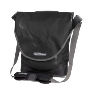 ortlieb city-biker ql3 bike pannier- Save 44% Off - CLOSEOUTS . Ortlieband#39;s City-Biker QL3 bike pannier is a lightweight, waterproof commuter pannier that transitions comfortably to a sling bag. The lid is secured by a large touch-fasten pad, and the padded shoulder strap is secured to the inside of the lid while riding. Available Colors: BLACK, STEEL BLUE.