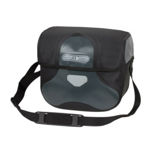 ortlieb ultimate 6 classic handlebar bag - large- Save 40% Off - CLOSEOUTS . Made of waterproof fabric, the Ortlieb Ultimate 6 Classic large handlebar bag is suitable for both touring or commuting. The reinforced lid features a magnetic closure, and the zip pocket inside holds valuables. Available Colors: BLACK, ASPHALT/BLACK.