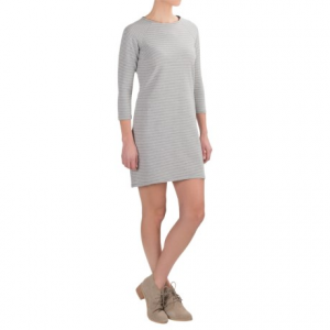 workshop republic clothing stretch cotton french terry dress - long sleeve (for women)- Save 59% Off - CLOSEOUTS . Simple, soft and stretchy, the Workshop Republic Clothing stretch cotton French terry dress boasts a flattering silhouette and a high-low hem. The plush hand of this French terry cotton blend breathes for an airy feel, perfect for casual occasions in all seasons. Available Colors: HEATHER GREY/WHITE, NIGHTLIFE/WHITE. Sizes: S, M, L, XL.