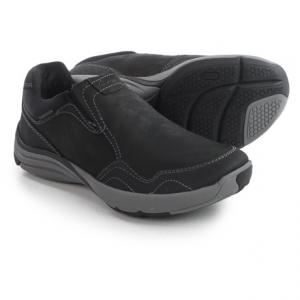 Image of Clarks Wave Voyage Shoes - Nubuck, Slip-Ons (For Men)
