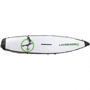 lakeshore paddleboard company sup board bag - 12?6?- Save 30% Off - CLOSEOUTS . A convenient way to protect and transport your stand-up paddle board, the Lakeshore Paddleboard Companyand#39;s SUP board bag has foam padding, cinch straps and soft rubber handles on each end. Available Colors: SEE PHOTO.