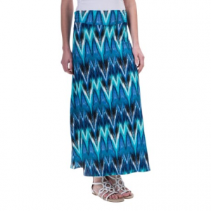 aventura clothing nevis maxi skirt - rayon-tencel(r) (for women)- Save 65% Off - CLOSEOUTS . Youand#39;ll love the bold, dart-style, tie-dye-inspired print in Aventura Clothingand#39;s Nevis skirt, a silky, swingy maxi thatand#39;ll fulfill all your boho-style dreams. Available Colors: BLACK, MOSAIC BLUE. Sizes: XS, S, M, L, XL.