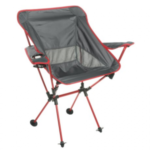 travelchair wallaby camp chair- Save 40% Off - CLOSEOUTS . Whether youand#39;re miles away from home or hanging with friends around the backyard firepit, TravelChairand#39;s Wallaby camp chair offers loads of comfort in a lightweight, compact design that includes armrests and a cup holder. Available Colors: BLACK, RED.