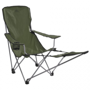 alps mountaineering escape camp chair- Save 50% Off - CLOSEOUTS . Sit back, relax and kick your feet up! ALPS Mountaineering's Escape camp chair is designed for comfort and relaxation thanks to its sturdy steel frame, adjustable armrests and fold-out footrest. Available Colors: STEEL BLUE, GREEN.